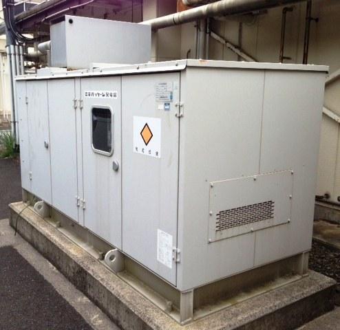 機械工具 三菱重工 パッケージ発電機 非常用発電機 220KVA PG220PX-RO