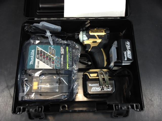 マキタ 14.4V充電式インパクトドライバ- 5.0Ah TD137DSP1