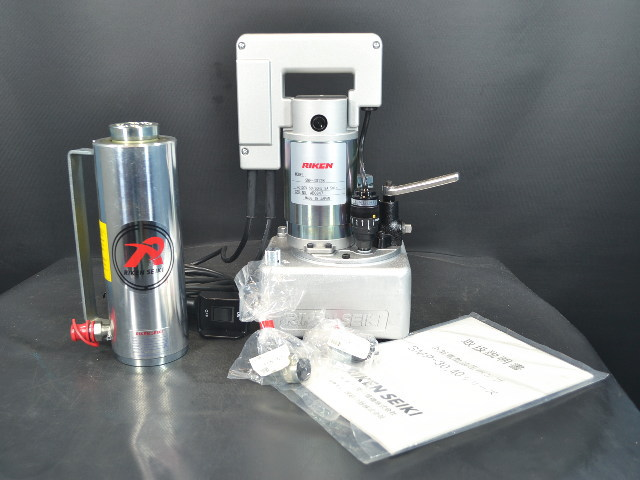 理研 可搬式小型ポンプセット SMP-3012B/SJ2-150AL