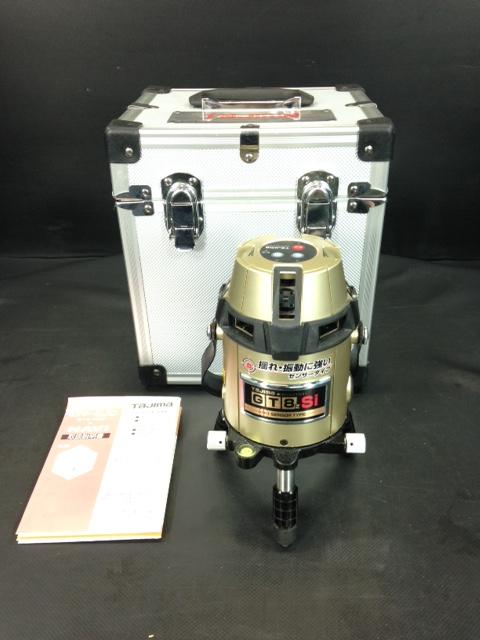 タジマ レーザー墨出し器 フルラインセンサーレーザー GT8ZS-I