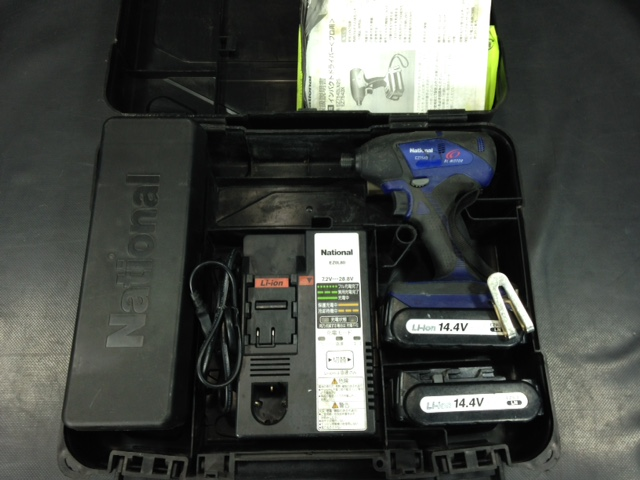 ナショナル National 14.4V充電式インパクトドライバ EZ7543